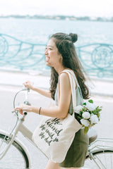 HẠT MƯA - TOTE BAG - QUOTE: SHE BELIEVED