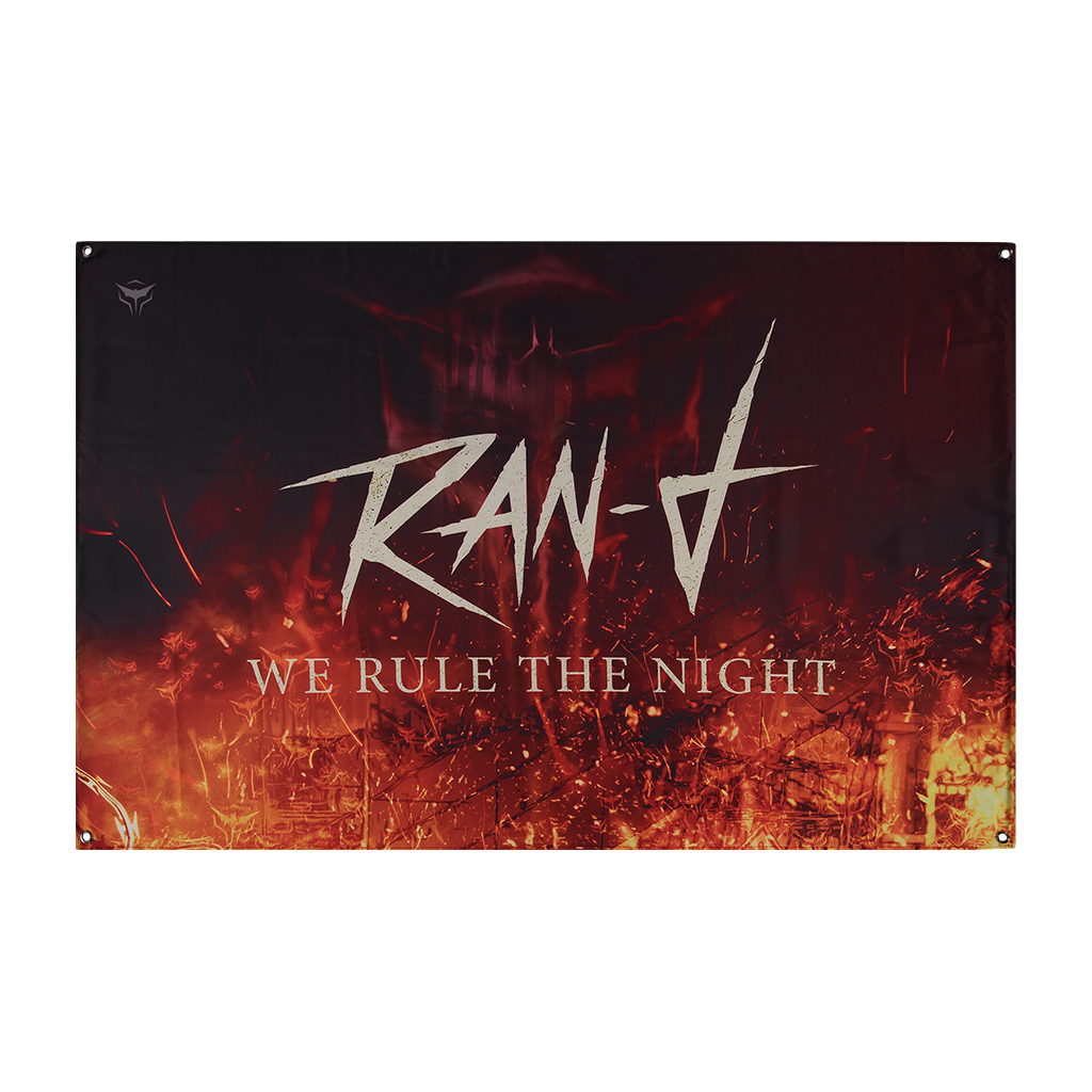 RAN-D WE RULE THE NIGHT FLAG
