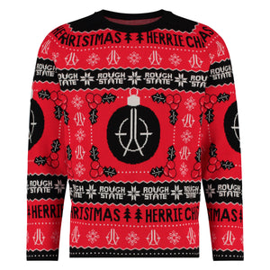 ROUGHSTATE HERRIE CHRISTMAS SWEATER