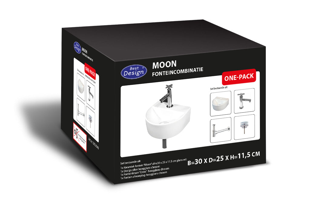 "[3853040] Best-Design ""One Pack"" fonteincombinatie ""Moon"""