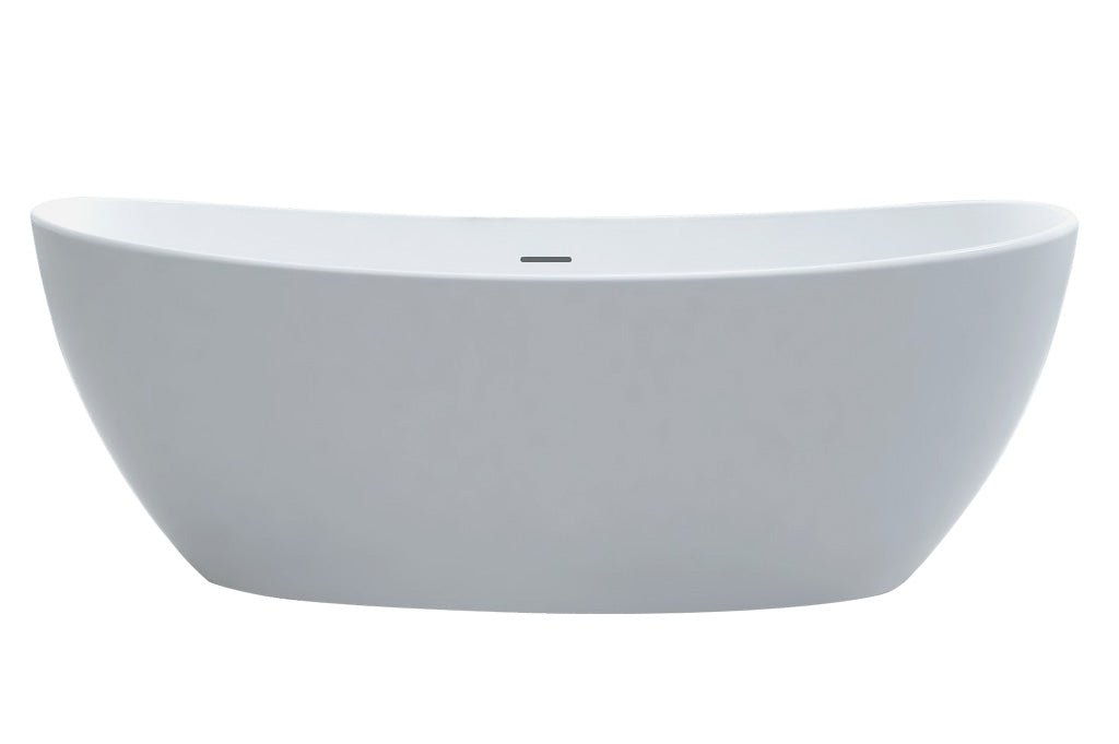 "[4000500] Best-Design ""Orto"" vrijstaand bad ""Just-Solid"" 180x85x64cm"