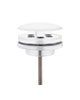 "[4004420] Best-Design  ""Low"" fontein afvoer plug ""White""  5/4"" mat-wit"