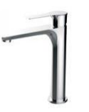 ZS80703A           ALONI VERHOOGDE WASTAFELKRANEN CHROOM ALONI MITIGEUR LAVABO HAUT CHROME