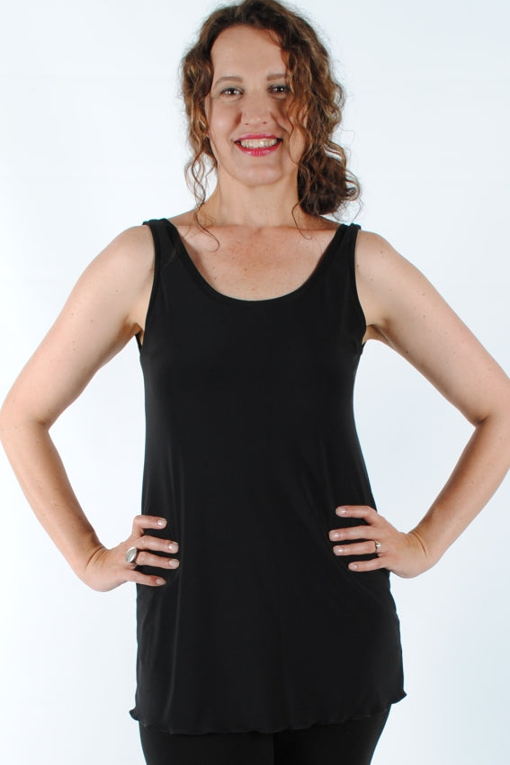Basic Black Bella Tunic