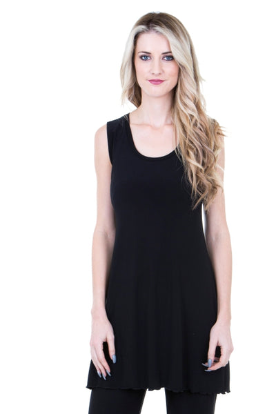 Basic Black Rosa A-line Tunic