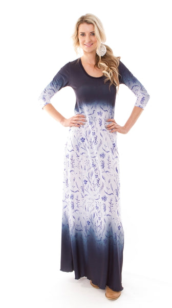 Faded Signature Maxi Dress
