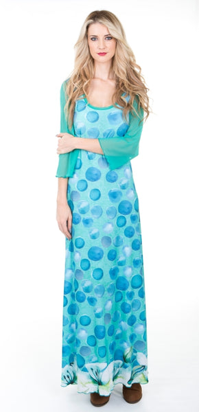 Polkalily Signature Maxi Dress