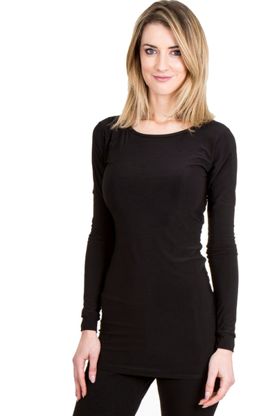 BASIC BELLA LONG-SLEEVE TOP