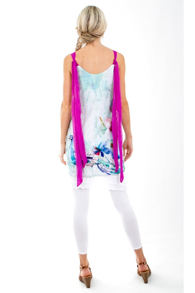 Peacock Tie Signature Tunic