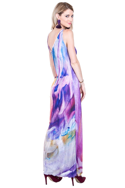 Signature Liquid Maxi Dress