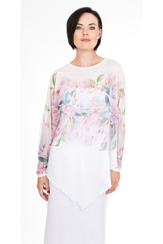 Signature Rose Tanya Top