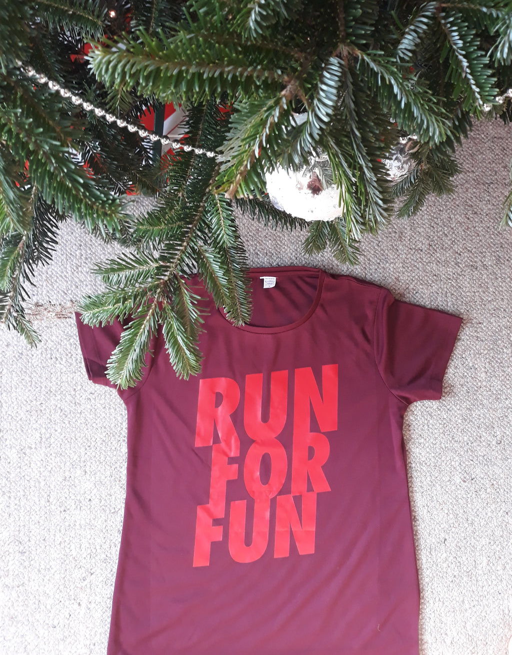 """RUN FOR FUN"" technical top"
