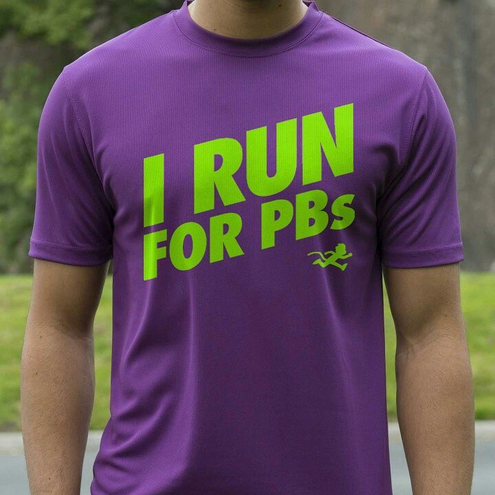 """I RUN FOR PBs"" print technical top"