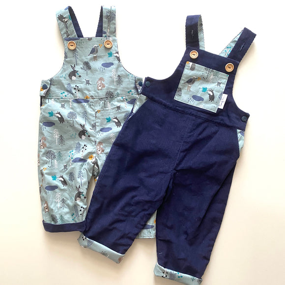 Forrest Friends Reversible Overalls