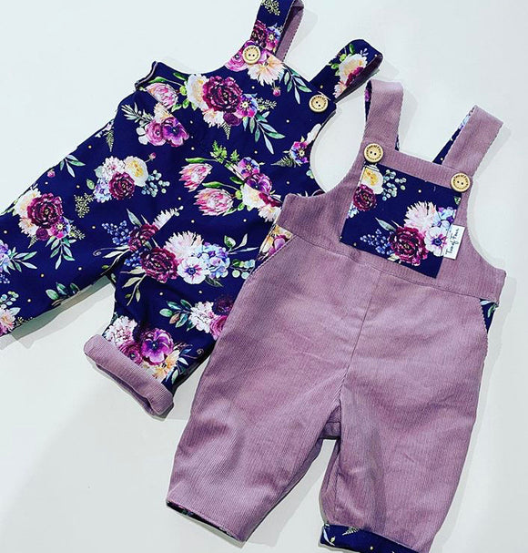 Fabulous Florence Reversible Overalls