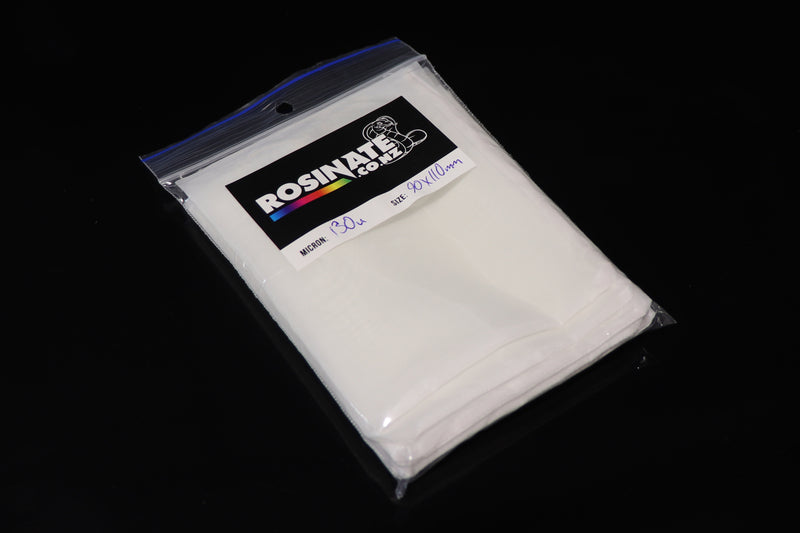 "Rosinator Rosin Filter Pack 77mm x 150mm (3""x 6"") 90 Micron"