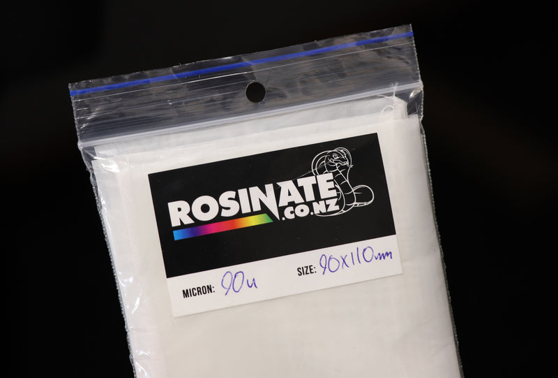 Rosinator Rosin Filter Pack 90mm x 110mm 90 Micron