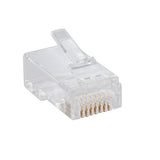 Dlink Cat6 UTP Modular RJ-45 Plugs with Engraved D-link Logo  (100 Pcs/Bag)