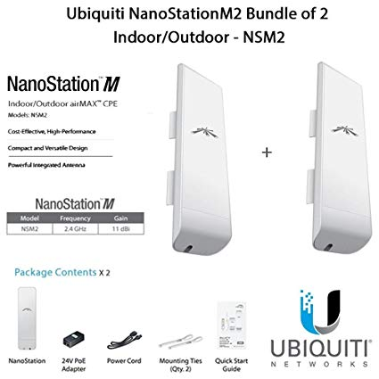 Ubiquiti NSM2 NanoStation M Indoor/Outdoor airMAX® CPE