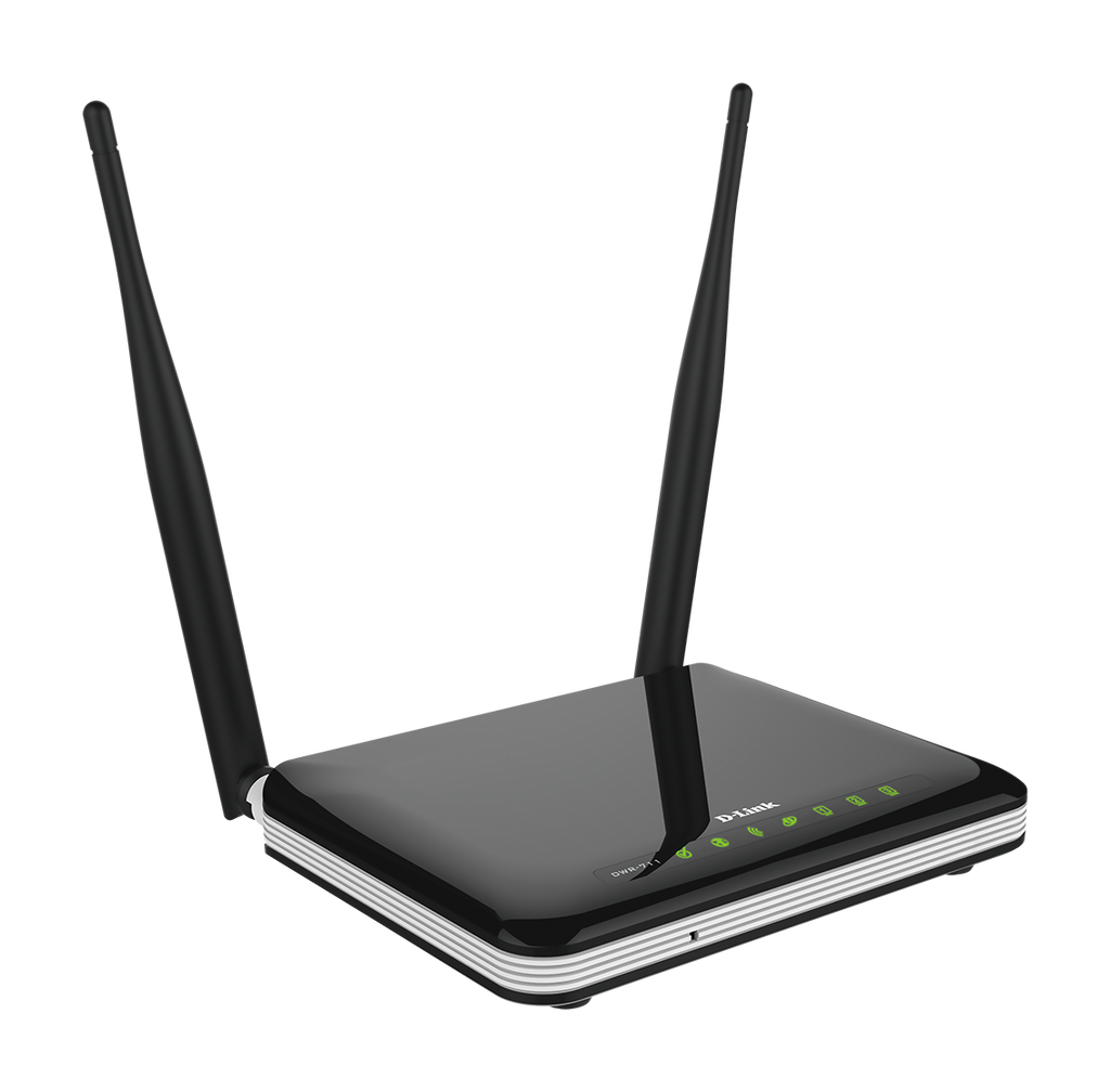 300Mbps Wireless 11n, HSPA+ (upto 21Mbps DL speed) Router with 4 10/100 LAN ports, WPS button, dual 5dBi external antennas