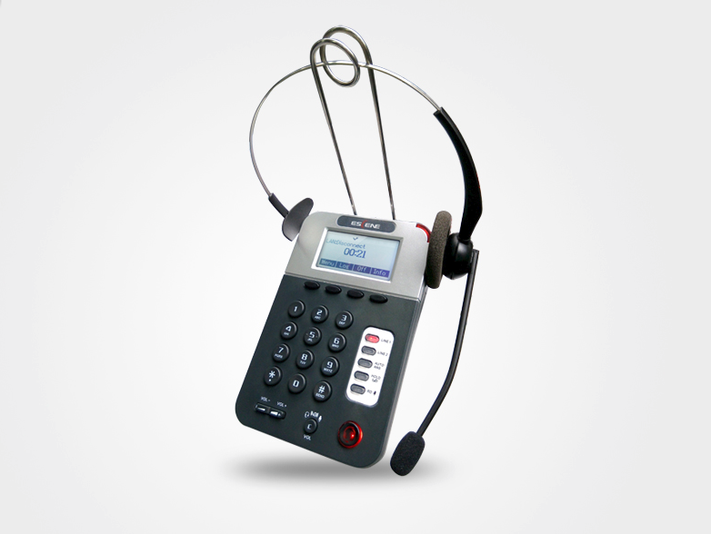 Escene CC800-P Comfortable headset and call session control