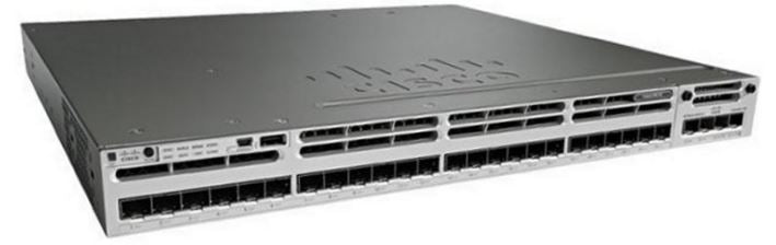 Cisco Catalyst WS-C3850-24S-S (Managed Switch)