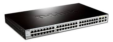 48-Port 10/100BaseT + 2-Port 10/100/1000Mbps Copper + 2 Combo Copper/SFP Smart Switch