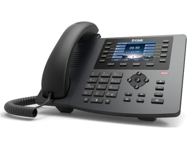 SIP Color LCD Business IP Phone with  1 x Gigbit PoE port, 1 x Gigabit LAN port, 3.5inch Color LCD display