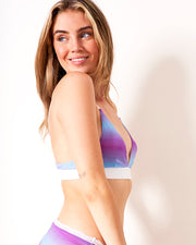Triangle Bra - Blue Ombre