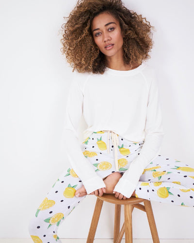 Lemonade Lounge Pant & Cloud Sweatshirt Set
