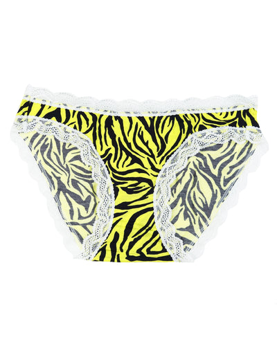 Neon Yellow Safari Knicker