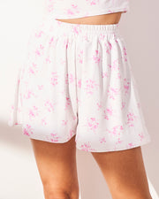 Cropped Cami and Swirl Shorts Set - Pastiche