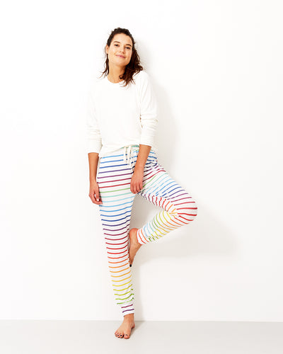 Lounge Pant - Rainbow Stripe