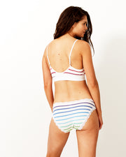 T-Shirt Bra & Knicker Set - Rainbow Stripe