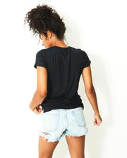 Essential Short Tee - Black