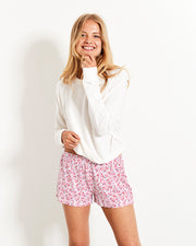 Rosebay Bedshorts & Cloud Sweatshirt Set