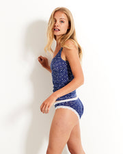 Vest & Knicker Set - Starry Night