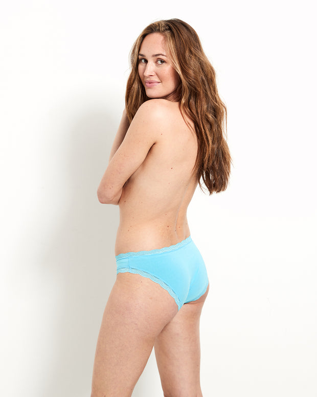 Light Turquoise Knicker