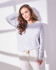 Sweatshirt - Grey Stripe