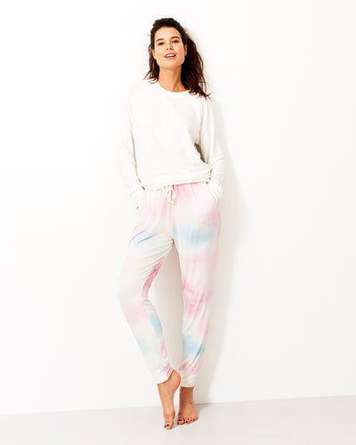 Watercolour Lounge Pant & Cloud Sweatshirt Set