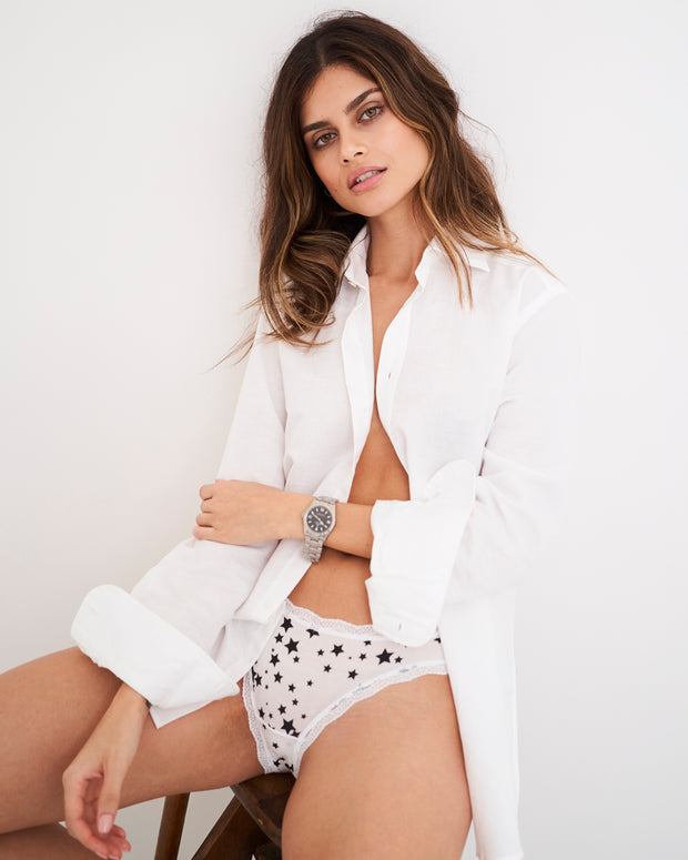 White Constellation Knicker