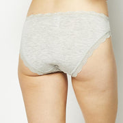 Grey with Pink Star Knicker