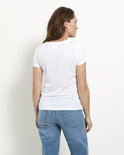 Essential Short Tee - White