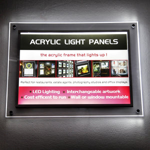 Acrylic LED Display Frames