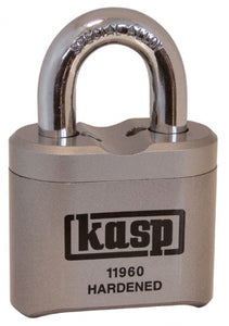 KASP High security steel combination padlock K11960D