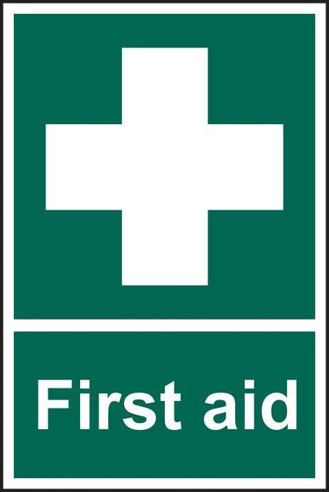 First aid - SAV/RPVC  200 x 300mm