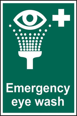 Emergency eye wash - PVC/RPVC/SAV 200 x 300mm