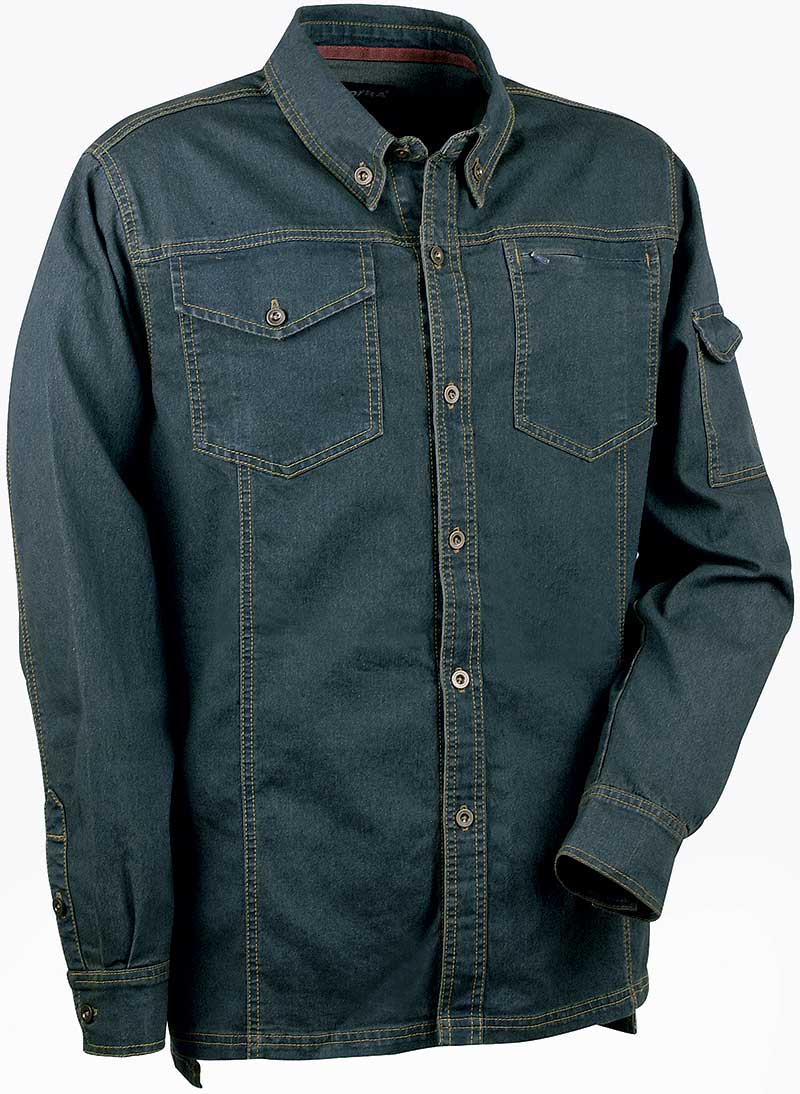 Cofra Bucarest Work Jeans Shirt 230g