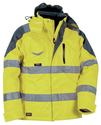 Rescue, Padded Jacket Hi Visibility