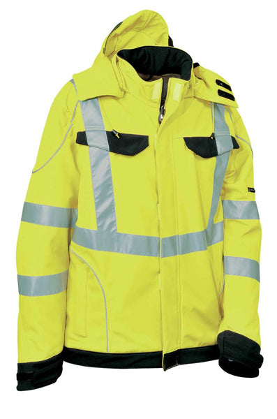 Cofra Rivas Hi Visibility Winter Softshell Jacket 300g